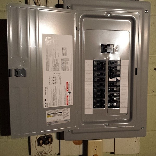finding the air conditioning breaker at the electric panel